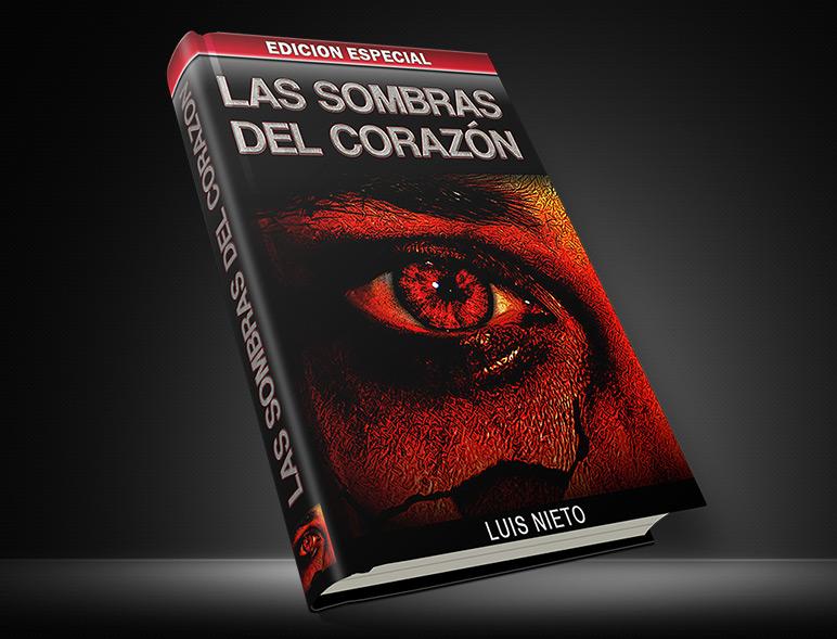 Las Sombras del Corazon Book Cover Design
