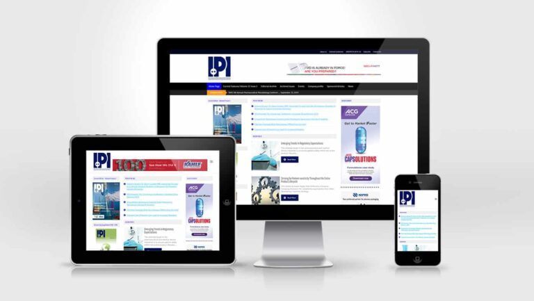 IPI Website Design